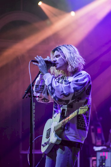 Grouplove at the Crystal Ballroom on April 21—click to see more photos by Jordan Sleeth