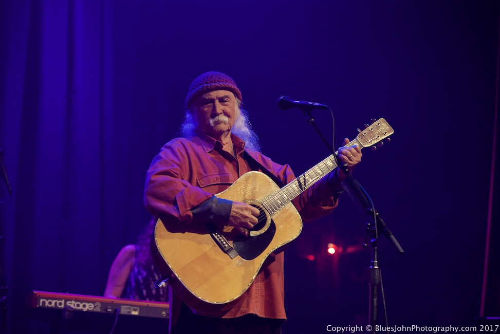 David Crosby, Aladdin Theater, photo by John Alcala