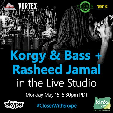 CLICK HERE to RSVP to the free, all-ages collab sesh on May 15 via Skype Live Studio