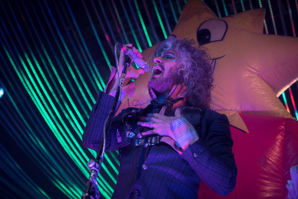 The Flaming Lips, Roseland Theater, photo by Jeff Ryan