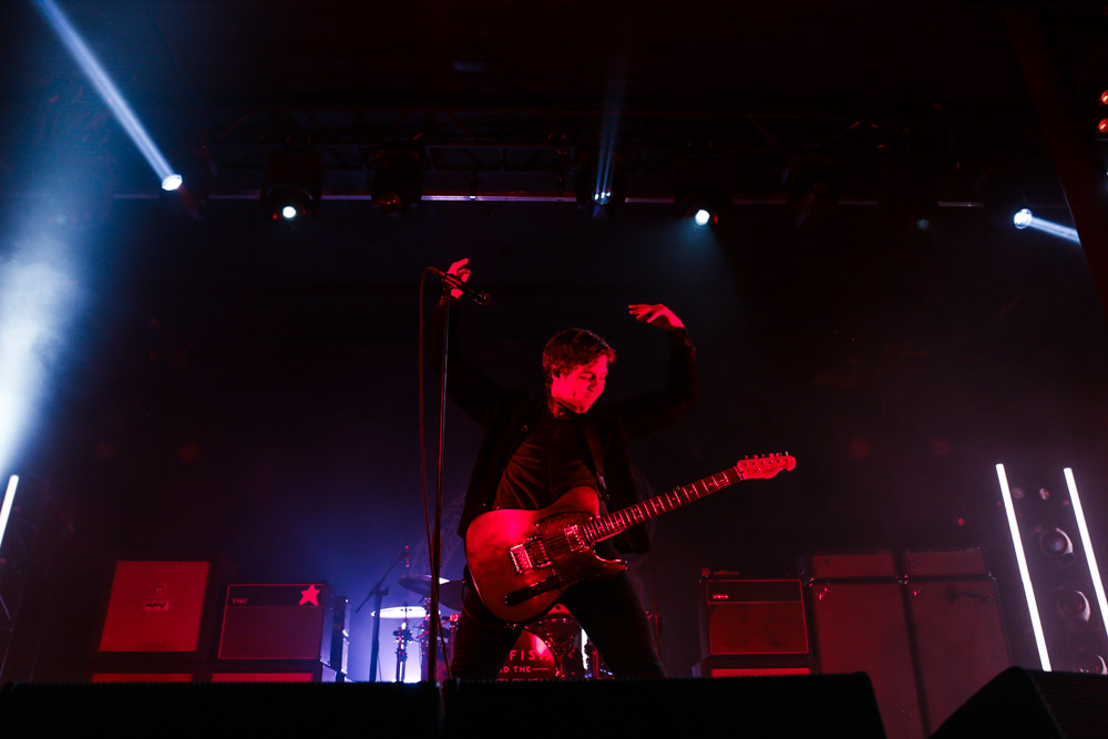 Catfish and the Bottlemen, Roseland Theater, photo by Sydnie Kobza