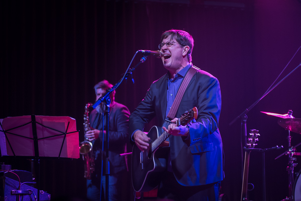 The Mountain Goats, Crystal Ballroom, photo by Jeff Ryan