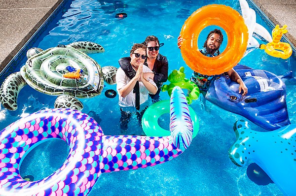 Join our pool party: Photo by Jason Quigley