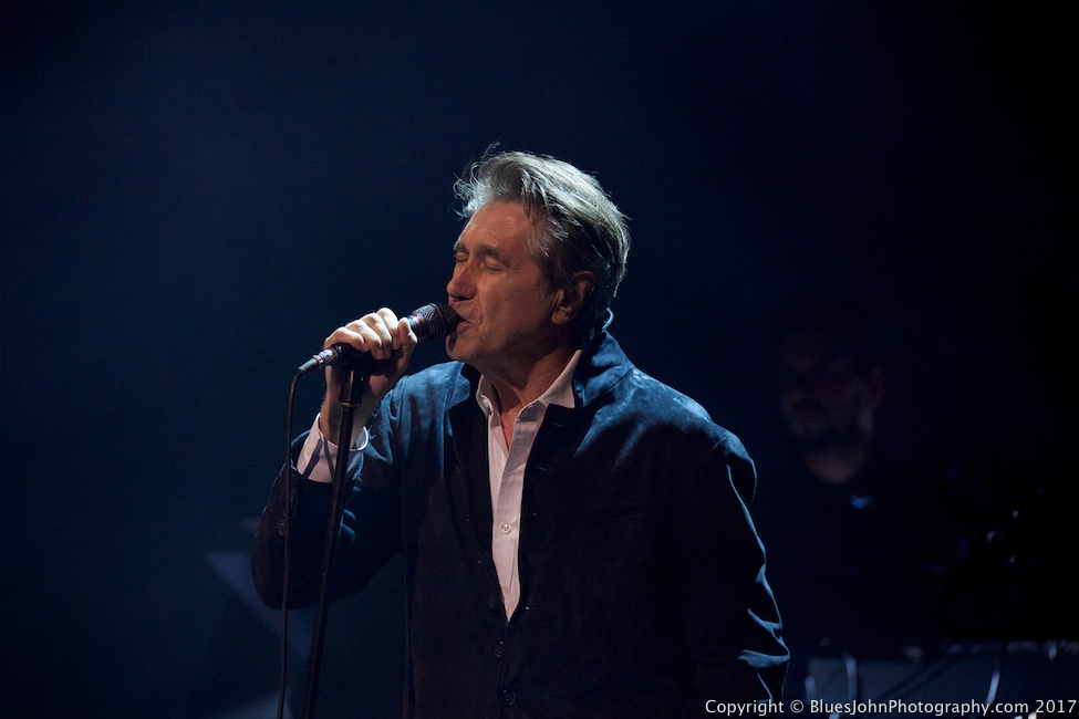 Bryan Ferry, Arlene Schnitzer Concert Hall, photo by John Alcala