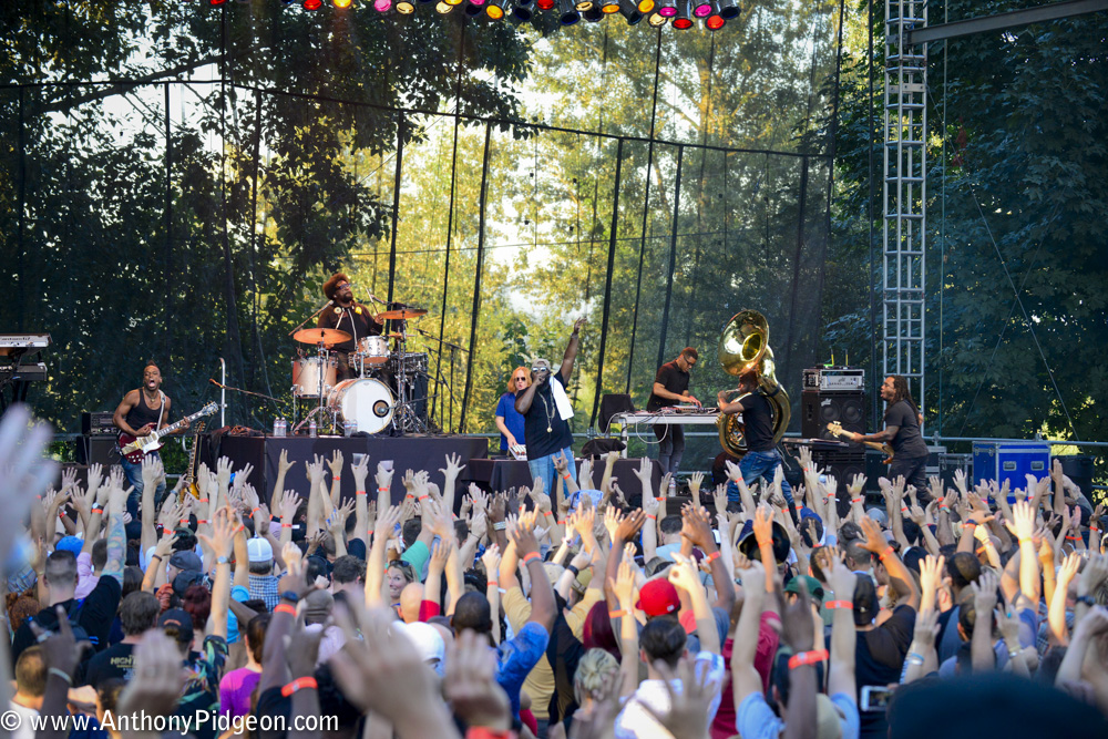 The Roots, Questlove, Edgefield, photo by Anthony Pidgeon