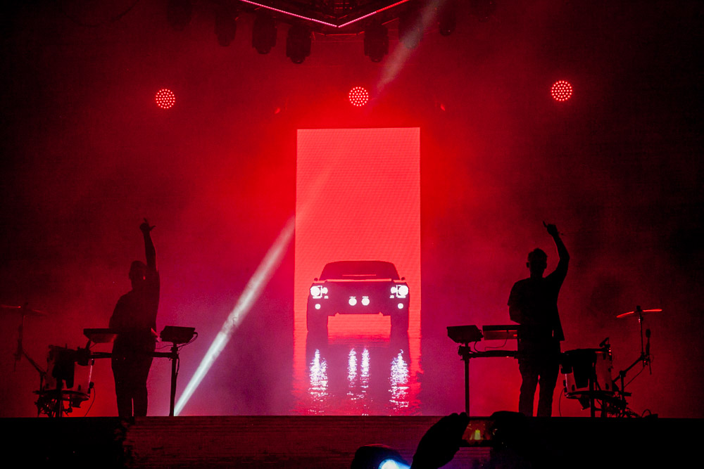 ODESZA, Bumbershoot, Seattle Center, photo by Tojo Andrianarivo