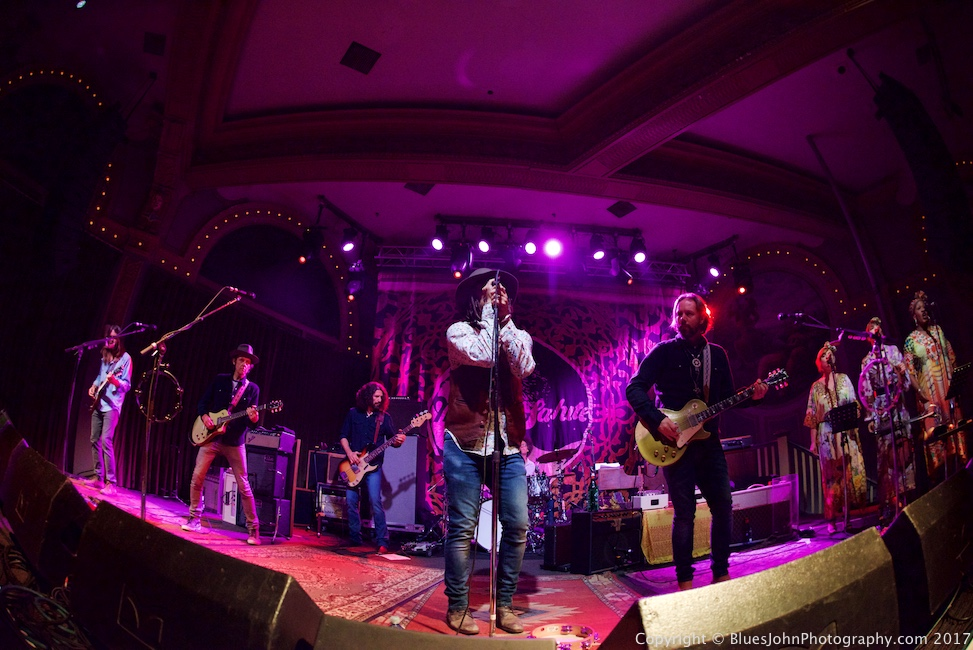 The Magpie Salute, Crystal Ballroom, photo by John Alcala
