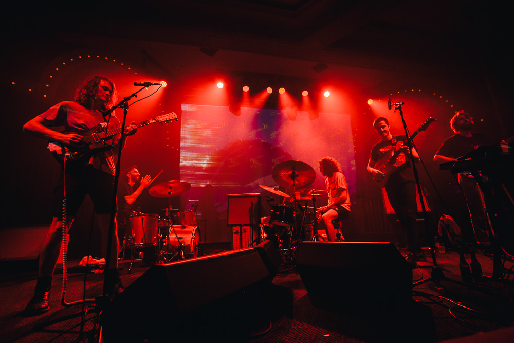 King Gizzard & The Lizard Wizard, Crystal Ballroom, photo by Blake Sourisseau