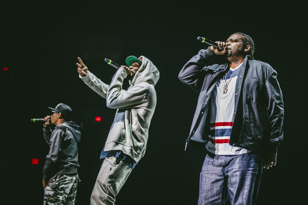 Bone Thugs-N-Harmony, Moda Center, Rose Quarter, photo by Sam Gehrke