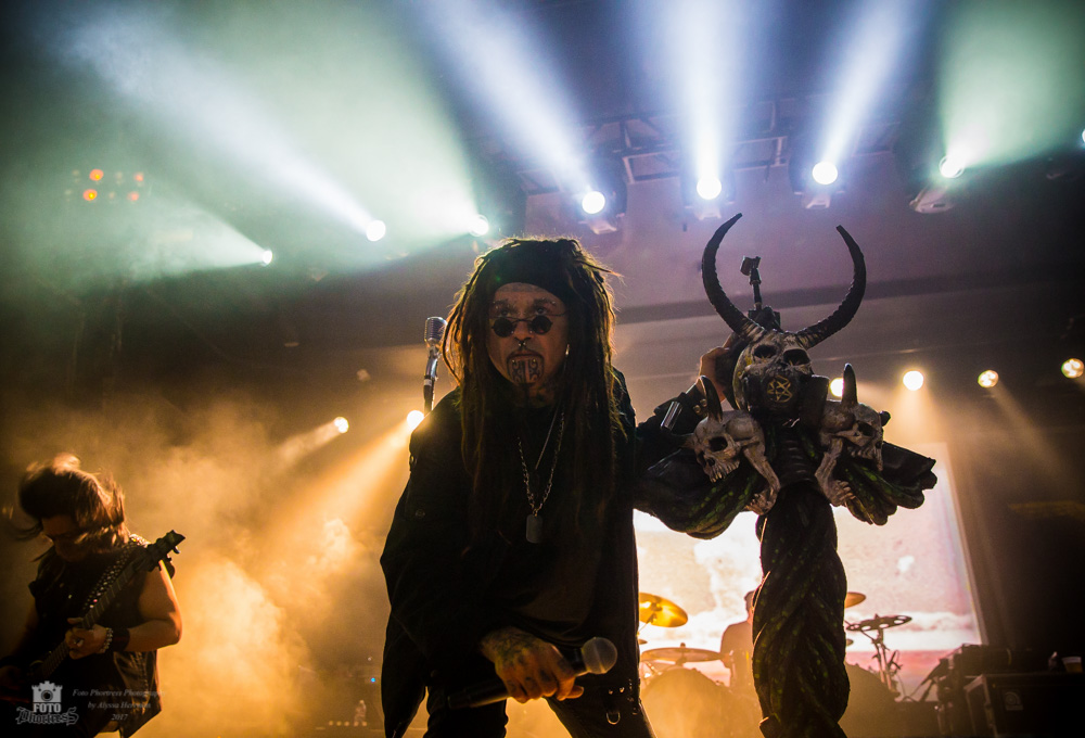 Ministry, Roseland Theater, photo by Alyssa Herrman