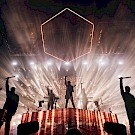 ODESZA, Veterans Memorial Coliseum, Rose Quarter, photo by Jessie McCall