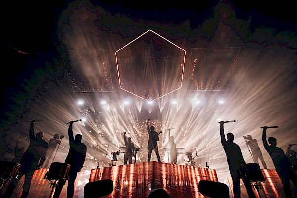 Photo by Jessie McCall—click to see more shots of ODESZA in the lights and behind the scenes