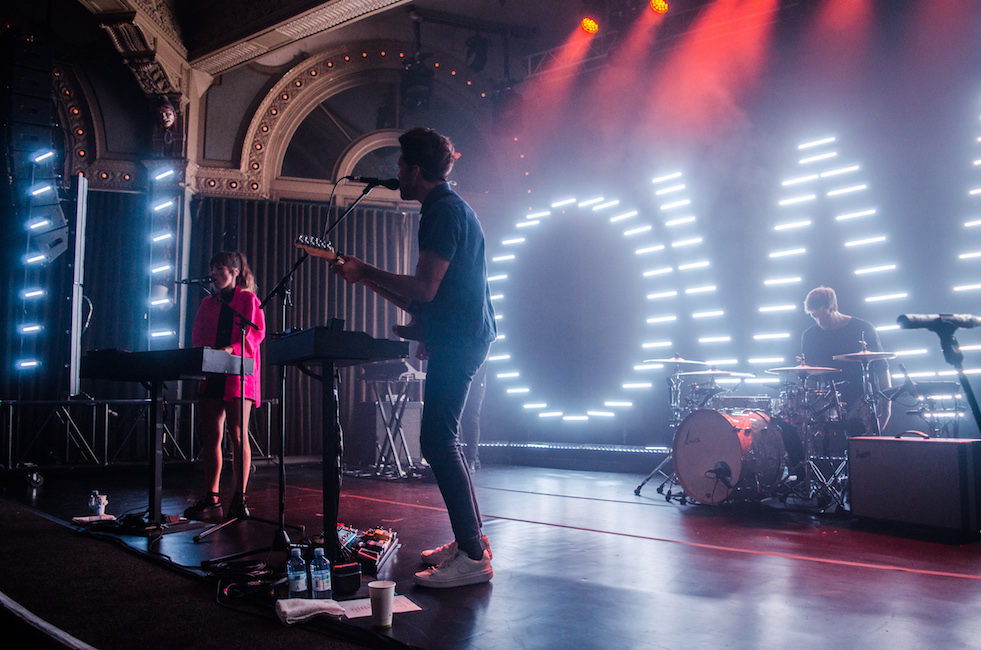 Oh Wonder, Crystal Ballroom, photo by Chelsea Gaya