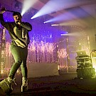 Sylvan Esso, Crystal Ballroom, 94.7 FM, photo by Jordan Sleeth