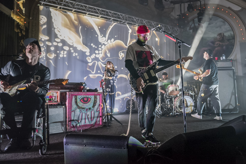 Portugal. The Man, Crystal Ballroom, 94.7 FM, photo by Jordan Sleeth