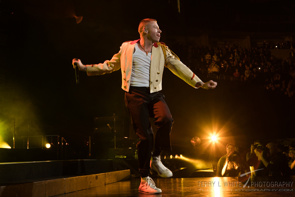 Macklemore, KeyArena, photo by Terry White
