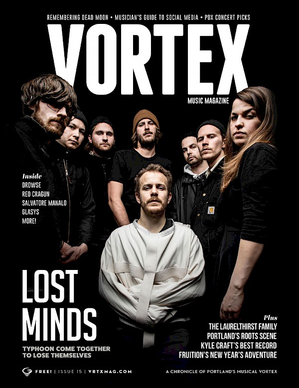 You can also get this beaut mailed direct to your door: CLICK HERE to join the Vortex Access Party—you'll even be entered to win the new Fruition record on vinyl! Cover photo by Sam Gehrke.