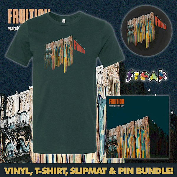 Wanna win Fruition's new record on vinyl plus a bundle of swag? Fill out the form below!