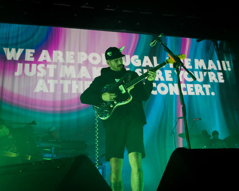 Portugal. The Man, McDonald Theatre, photo by Adam Graves