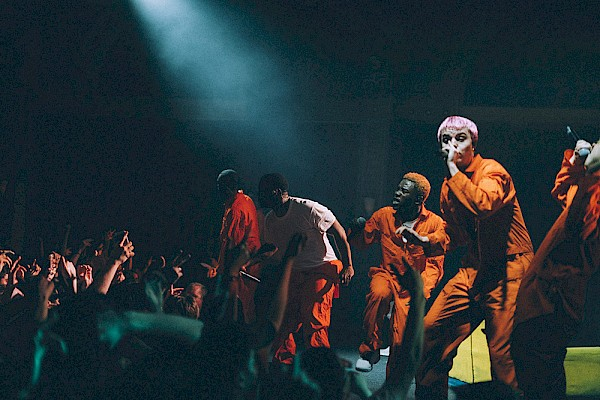Brockhampton at the Crystal Ballroom on March 2, 2018. Photo courtesy of Ashlan Grey.