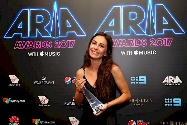 Amy Shark at the 2017 ARIA Awards
