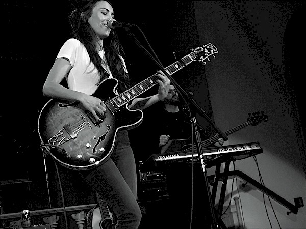 Amy Shark at The Old Church last month. Photo courtesy of Brendan Swogger.