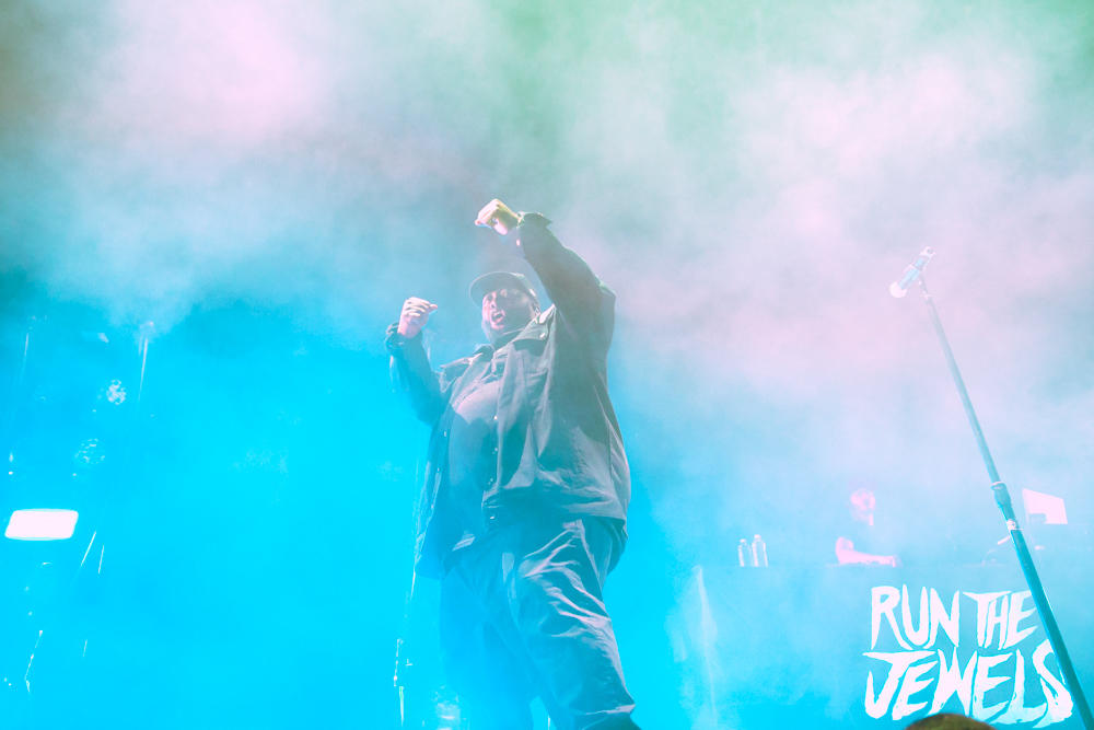 Run The Jewels, Moda Center, Rose Quarter, photo by Sydnie Kobza