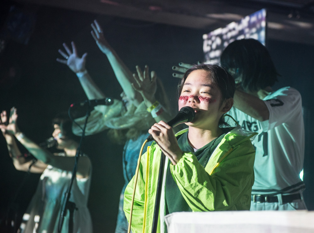 Superorganism, Doug Fir Lounge, photo by Chad Lanning