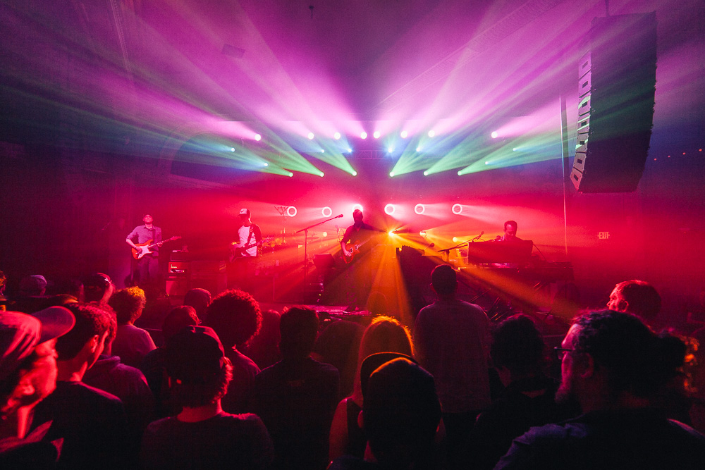Umphrey's McGee, Crystal Ballroom, photo by Blake Sourisseau