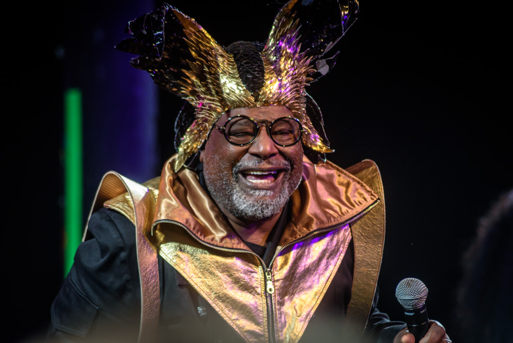 George Clinton and Parliament Funkadelic, Roseland Theater, photo by Jesse Lanier