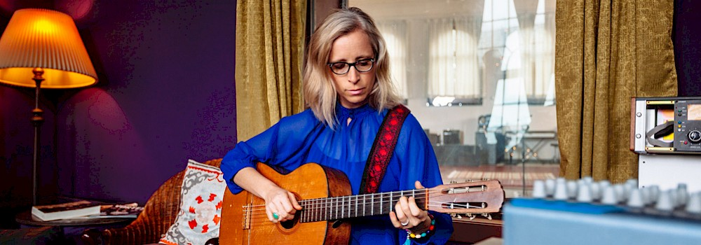 Laura Veirs, Jason Quigley Photography, The Hallowed Halls, photo by Jason Quigley