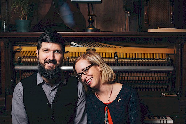 Tucker Martine and Laura Veirs at Flora Recording & Playback