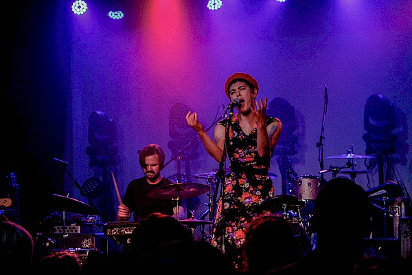 Miya Folick at the Hawthorne Theatre on April 7, 2018