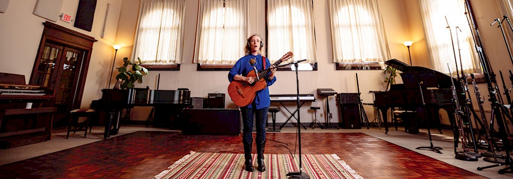 Laura Veirs, The Hallowed Halls, photo by Jason Quigley