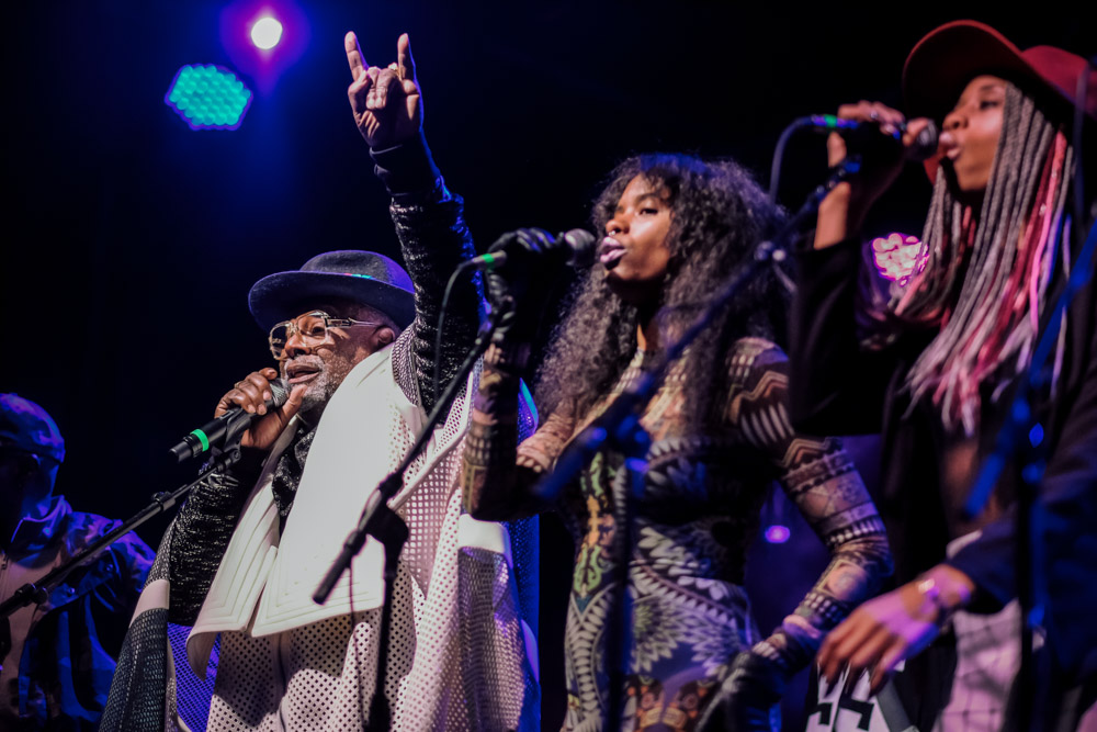 George Clinton and Parliament Funkadelic, Treefort Music Fest, photo by Tojo Andrianarivo