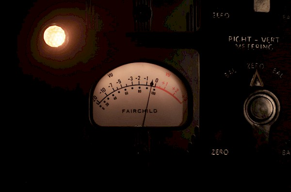The pièce de résistance: Powell's reproduction of the historic Fairchild 670 compressor-limiter