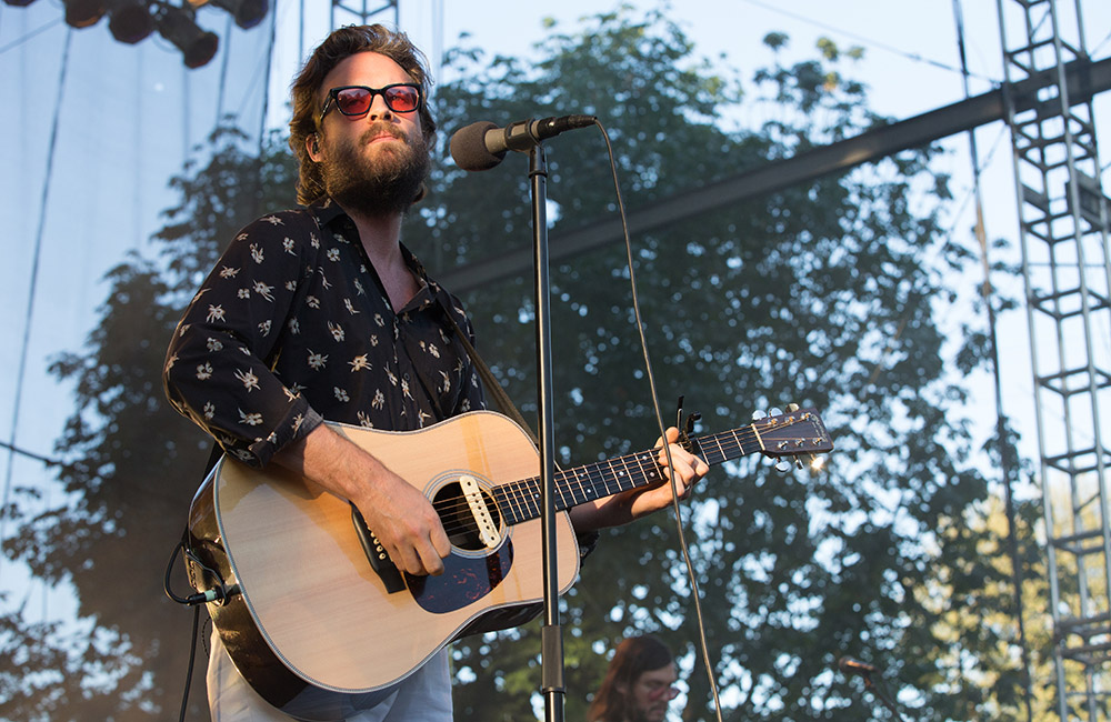 Father John Misty, Edgefield, photo by Joe Duquette