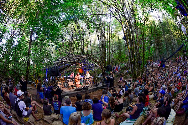 The Woods Stage at Pickathon: Photo by Anthony Pidgeon