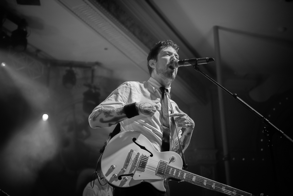 Frank Turner & The Sleeping Souls, Crystal Ballroom, photo by Jeff Ryan