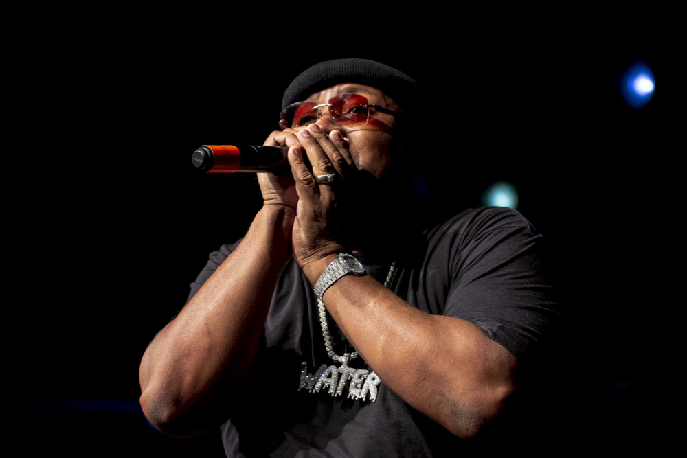E-40, Roseland Theater, photo by Dune Stewart