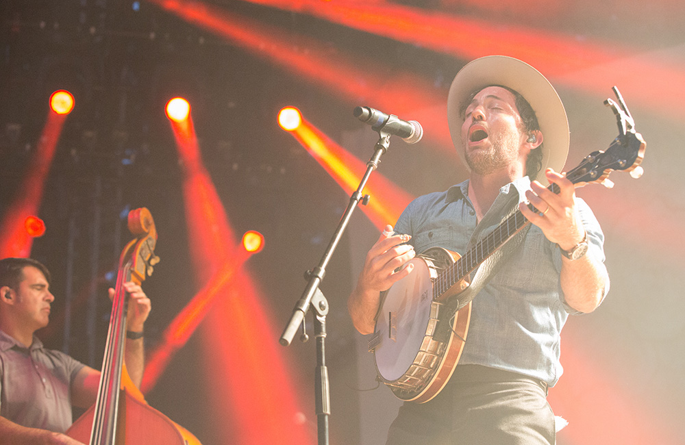 The Avett Brothers, Edgefield, photo by Joe Duquette