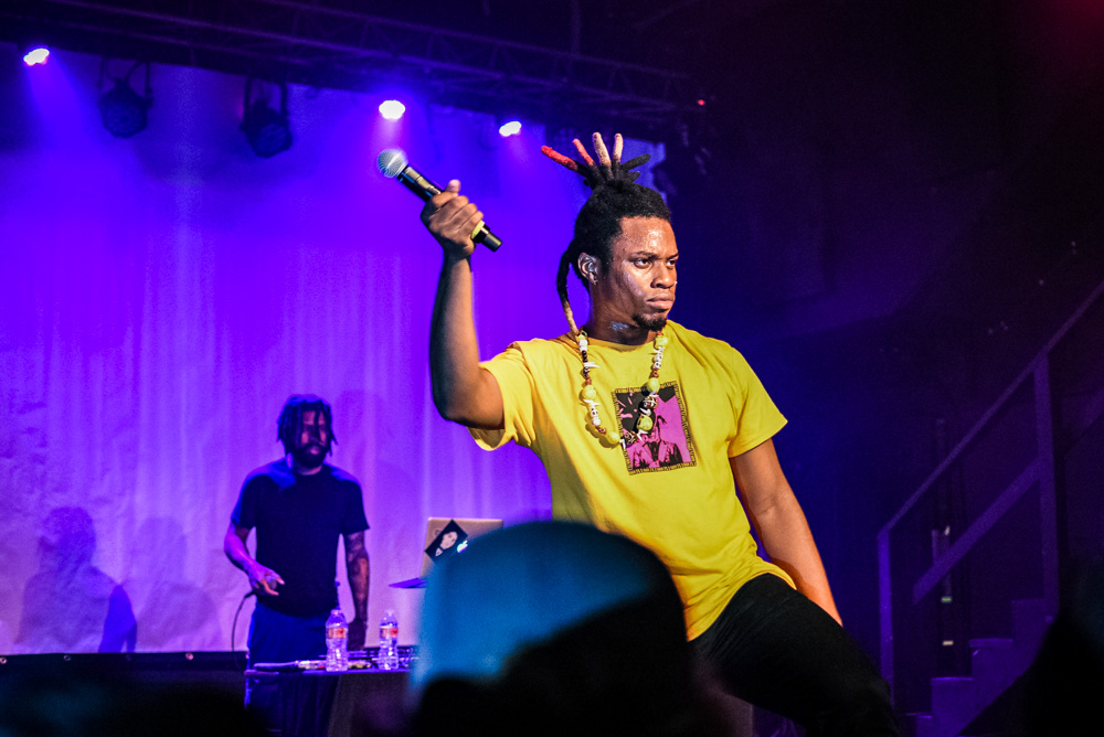 Denzel Curry, Hawthorne Theatre, photo by Brad Smith