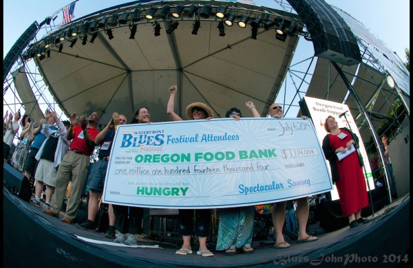 OFB check presentation on July 6, 2014