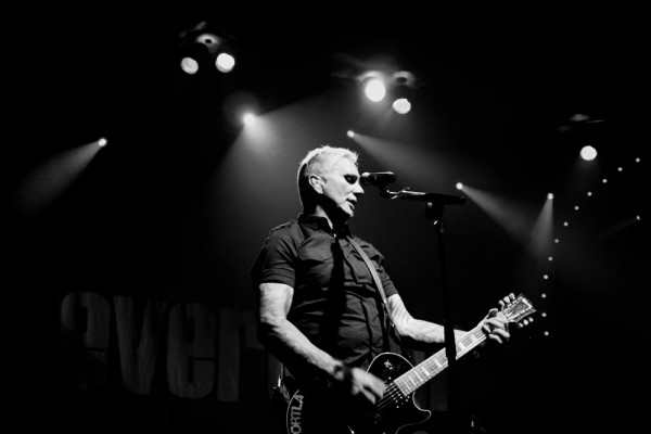 Art Alexakis of Everclear feeling at home on the Crystal Ballroom stage. Photos by Christina Bargel.