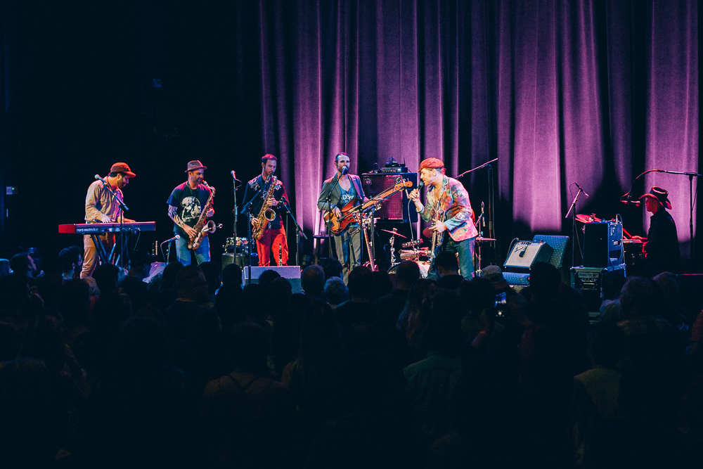 The California Honeydrops, Revolution Hall, photo by Blake Sourisseau
