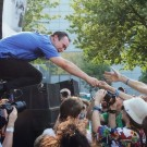 Future Islands, MusicfestNW, Tom McCall Waterfront Park, photo by Autumn Andel
