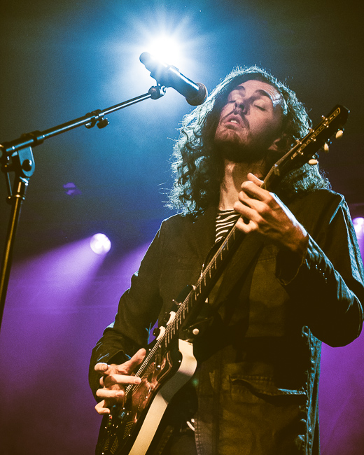 Hozier, Roseland Theater, photo by Austen Maddox