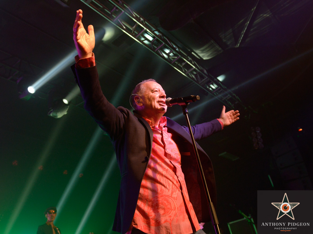 Simple Minds, Roseland Theater, photo by Anthony Pidgeon