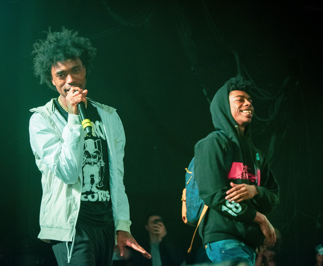 SOB X RBE, Roseland Theater, photo by Henry Ward