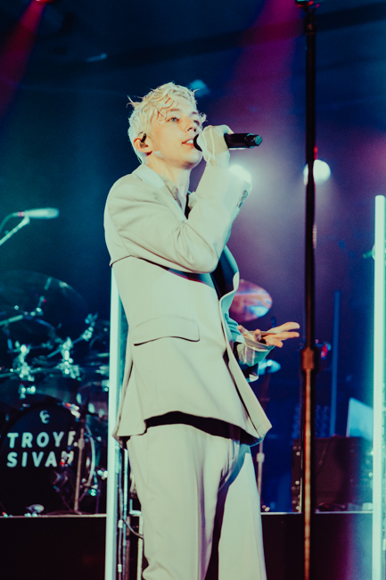 Troye Sivan, Roseland Theater, photo by Sydnie Kobza